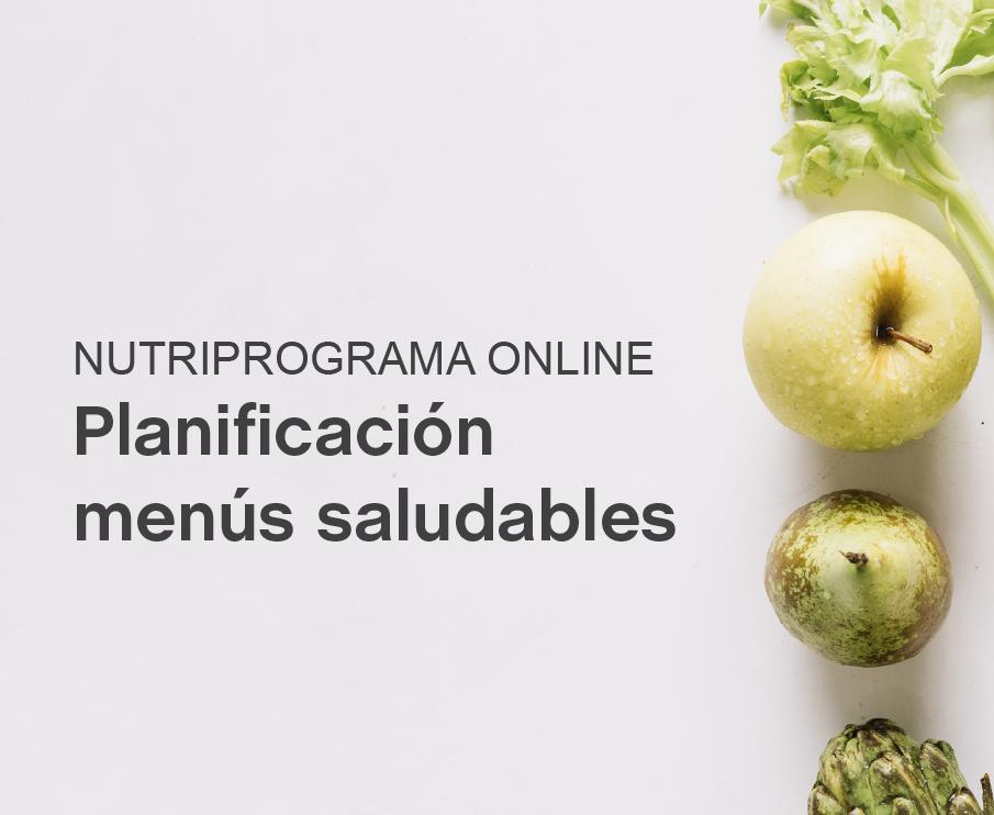 Nutriprograma Planificación de menús saludables